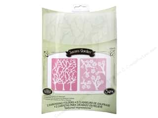 Sizzix Emboss Folder STierney TI Cherry Blosm Tree