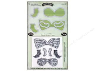 Sizzix Framelits Die Set Stamps Garden Fairy Accessories