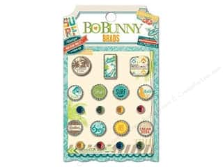 Bo Bunny Brads 19 pc. Key Lime
