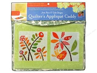 Tote Bag Flowers: C&T Publishing Quilters Applique Caddy
