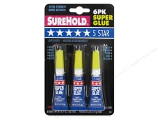 super glue: SureHold Super Glue .11 oz. 6 pc.
