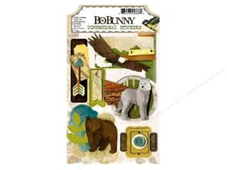 Bo Bunny Sticker Cardstock 3D Trail Mix