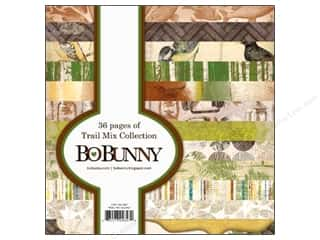 Bo Bunny Paper Pad 6x6 Trail Mix