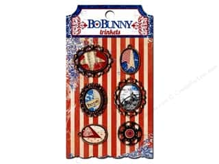 Bo Bunny Charms and Pendants: Bo Bunny Trinkets 6 pc. Anthem