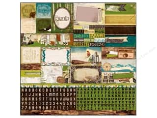 Bo Bunny Cardstock Stickers Combo Trail Mix