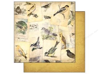 Bo Bunny Paper 12x12 Trail Mix Bird Watching (25 piece)