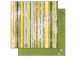 Bo Bunny Paper 12x12 Trail Mix Stripe (25 piece)