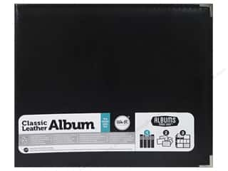 We R Memory Keepers Clear: We R Memory Keepers 3-Ring Album 12 x 12 in. Classic Leather Black