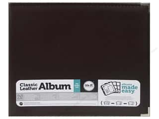We R Memory Keepers Clear: We R Memory Keepers 3-Ring Album 12 x 12 in. Classic Leather Cinnamon