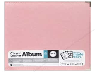 We R Memory Album 12x12 Leather Ring Pink