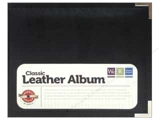 "We R Memory Album 6""x 6"" Leather Ring Black"