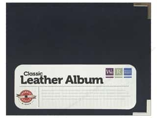 "We R Memory Album 6""x 6"" Leather Ring Navy"