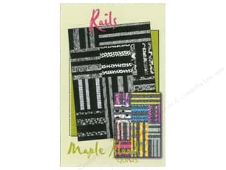 "Maple Island Quilts 12"": Maple Island Quilts Rails Pattern"