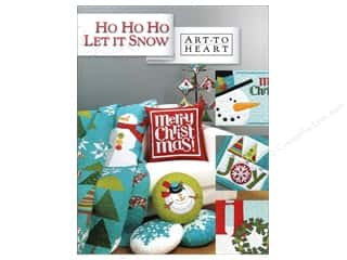 Pieceful Expressions: Art to Heart Ho Ho Ho Let It Snow Book by Nancy Halvorsen