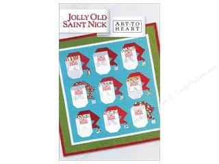 Hearts Art To Heart: Art to Heart Jolly Old Saint Nick Pattern