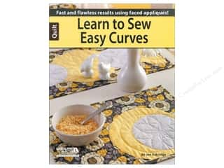 Leisure Arts Clearance Patterns: Leisure Arts  Learn to Sew Easy Curves Book by Jennifer Eskridge