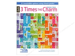 Leisure Arts 3 Times the Charm, Book 2 by Barbara Groves and Mary Jacobson