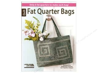 Lark Books $6 - $10: Leisure Arts Fat Quarter Bags by Stephanie Prescott