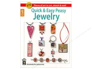 Leisure Arts Beading & Jewelry Making Supplies: Leisure Arts Quick & Easy Peasy Jewelry Book