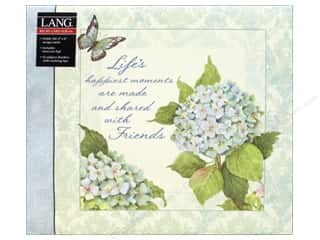 card sleeve: Lang Recipe Card Album Blue Hydrangea