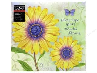 Clearance Jack Dempsey Decorative Hand Towel: Lang Recipe Card Album Daisy