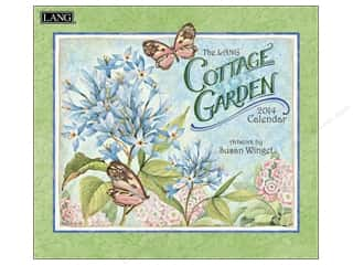Lang Calendar Wall Cottage Garden 2014