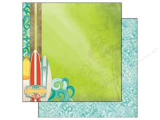 Clearance Blumenthal Favorite Findings: Bo Bunny 12 x 12 in. Paper Key Lime (25 piece)