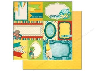 Clearance Blumenthal Favorite Findings: Bo Bunny 12 x 12 in. Paper Key Lime Notes (25 piece)