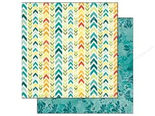 Clearance Blumenthal Favorite Findings: Bo Bunny 12 x 12 in. Paper Key Lime Makin Waves (25 piece)