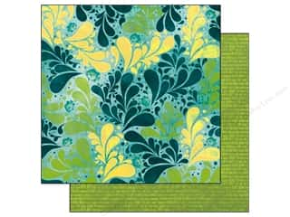 Bo Bunny Paper 12x12 Key Lime Splash (25 piece)