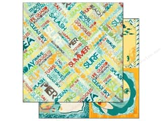Bo Bunny Paper 12x12 Key Lime Summer Daze (25 piece)