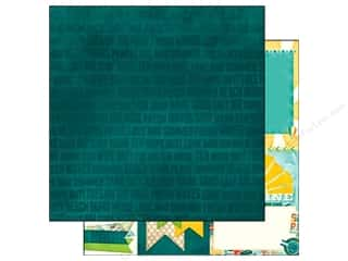 Clearance Blumenthal Favorite Findings: Bo Bunny 12 x 12 in. Paper Key Lime Wipe Out (25 piece)