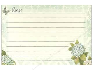 Lang Lang Recipe Card Box: Lang Recipe Cards 4 x 6 in. Blue Hydrangea 36 pc.