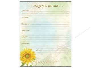 Clearance Pine Ridge Art List Pads: Lang Weekly Planner Jumbo Virtue Growss
