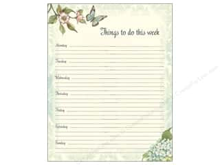 Weekly Specials Kid's Crafts: Lang Weekly Planner Jumbo Blue Hydrangea
