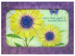 Captions $3 - $4: Lang Cutting Board 15 3/4 x11 3/4 in. Daisy