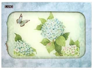 Cooking/Kitchen Blue: Lang Cutting Board 15 3/4 x 11 3/4 in. Blue Hydrangea