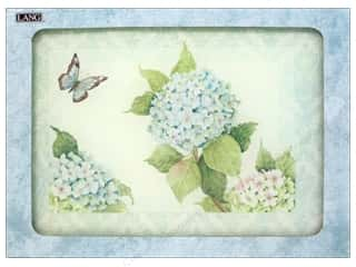 "Gifts & Giftwrap 11"": Lang Cutting Board Small 11 3/4 x8 3/4 in. Blue Hydrangea"