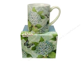 2013 Crafties - Best Quilting Supply: Lang Coffee Mug 14 oz. Blue Hydrangea