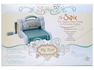 Rotary Cutting Blue: Sizzix Cutting Machine & Accessories Big Shot Shape Blue