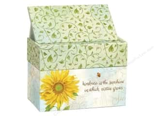 Boxes and Organizers Gifts & Giftwrap: Lang Recipe Box 4 x 6 in. Virtue Grows