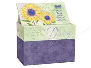 Captions $4 - $6: Lang Recipe Box 4 x 6 in. Daisy