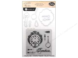 Sizzix Die Graphic45 Framelits Set Stamp Clocks