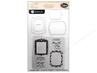 Graphic 45 inches: Sizzix Framelits Die Set with Stamps Frames by Graphic 45