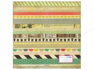 Crate Paper 12x12 DIY Shop Adhesive Washi Paper (15 piece)