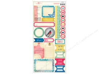 Crate Paper Stickers Maggie Labels & Border