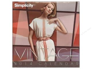 Calendars Books & Patterns: Simplicity Calendar Vintage Covers 2014