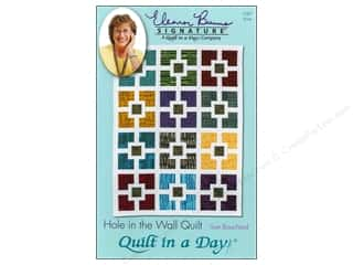 Fat Quarter / Jelly Roll / Charm / Cake Patterns: Quilt In A Day Hole In The Wall Quilt Pattern by Sue Bouchard
