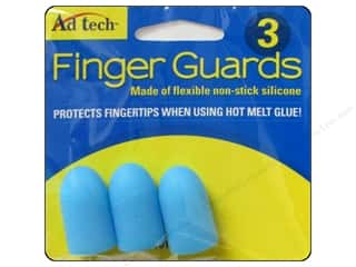 Adhesive Tabs Craft Glues, Adhesives & Tapes: Adhesive Technology Finger Guards 3 pc.