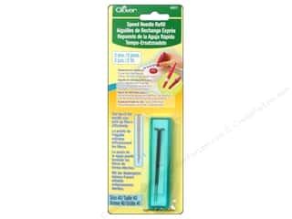 Tools Yarn & Needlework: Clover Needle Felting Refill Speed Needle 2 pc.